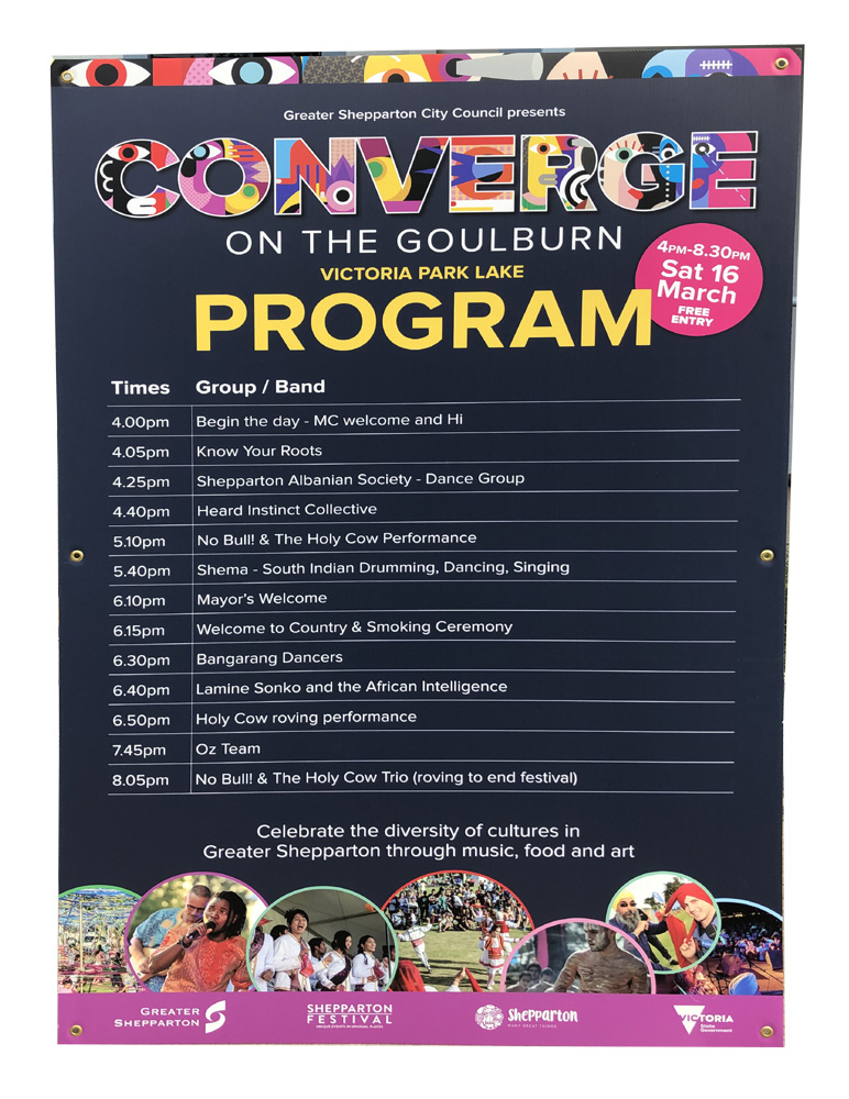 Converge on the Goulburn Program
