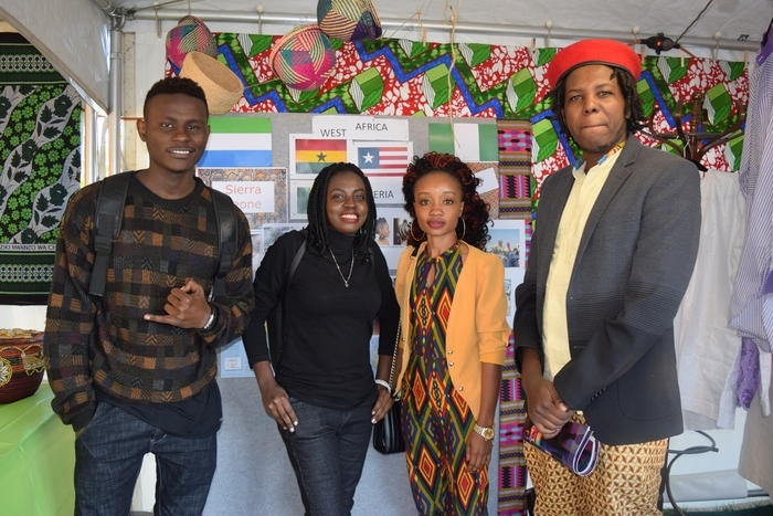 Burundian singer Foi and his friends from Albury-Wodonga