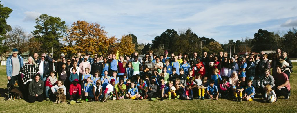 Participants in Soccer Friendly