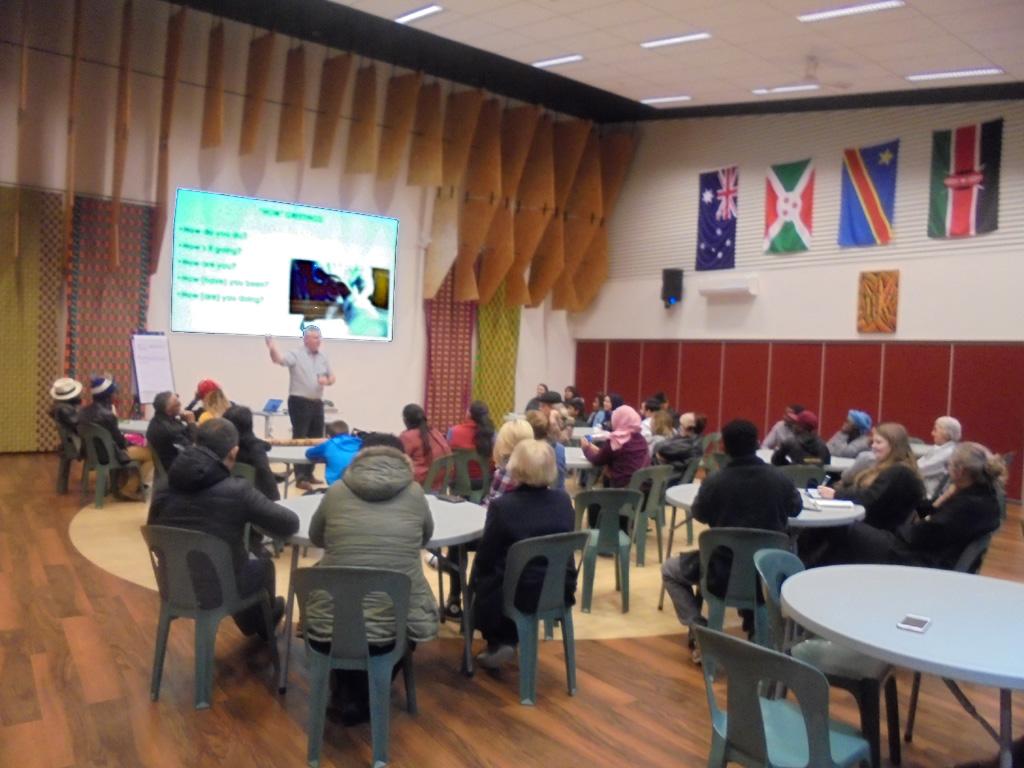 Aussie Street Talk at St Paul's African House, Shepparton