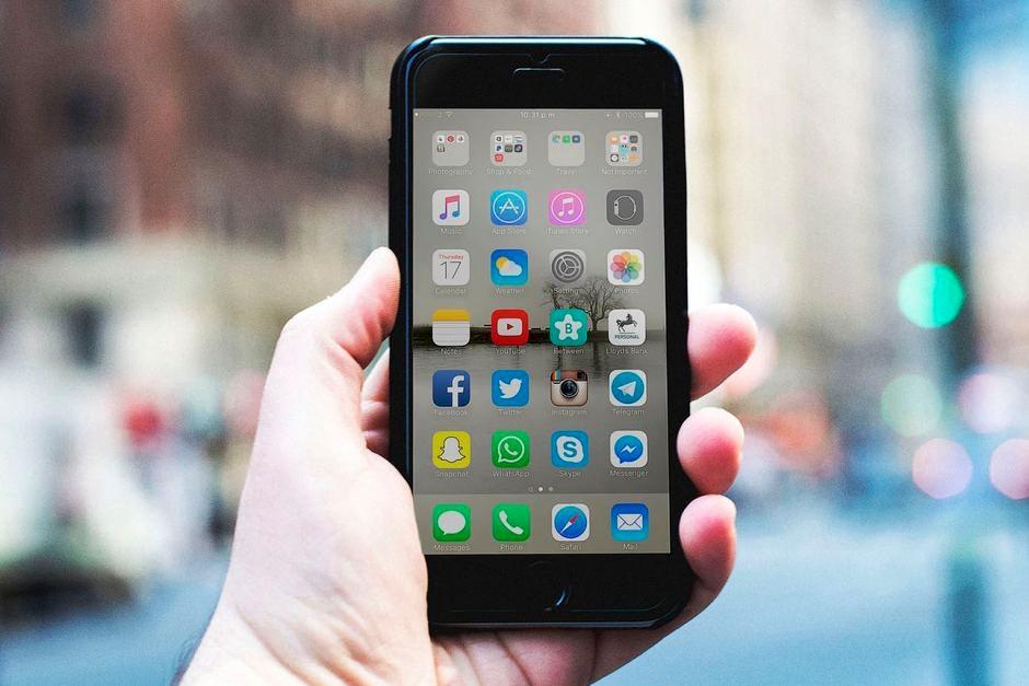 Mobile Phone display - uses cobalt