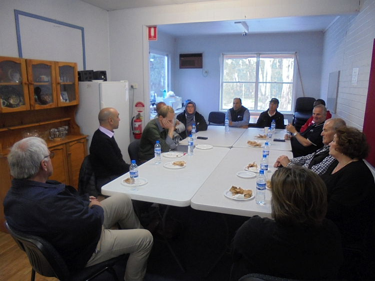 ECCV Staff meeting at Shepparton