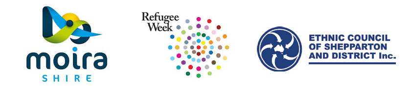Moire Shire Refugee Week 2019 Banner