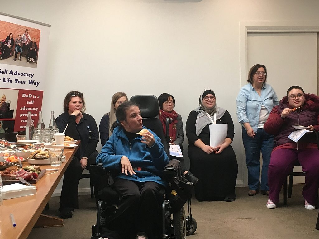 Participants at Your Life, Your Way: Women's Human Rights Café