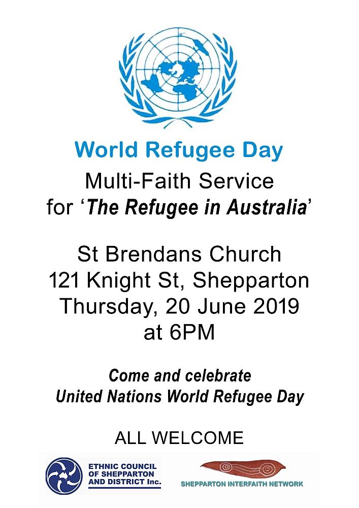 Multifath Service - World Refugee Day