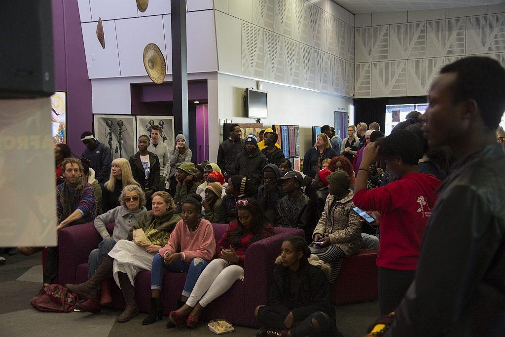 Participants at AfroBeat Festival 2019