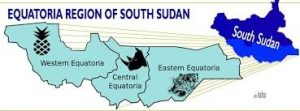 Equatoria region in South Sudan