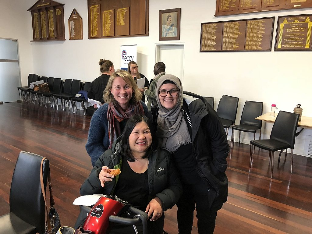 Participants in the NDIS session conducted in Shepparton
