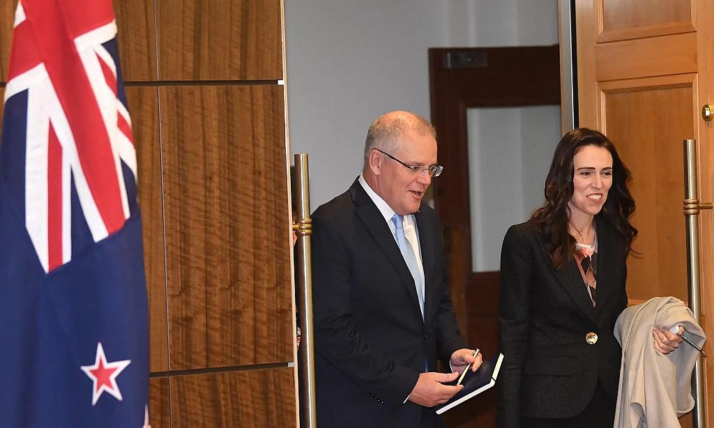 NZ Prime Minister with Australia Prime Minister