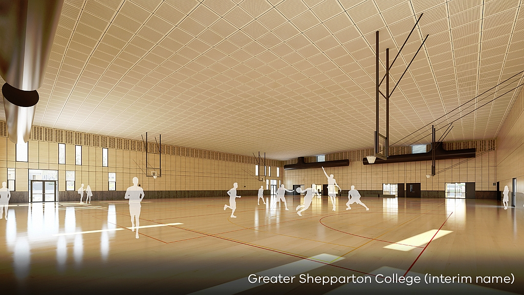Greater Shepparton college design plan