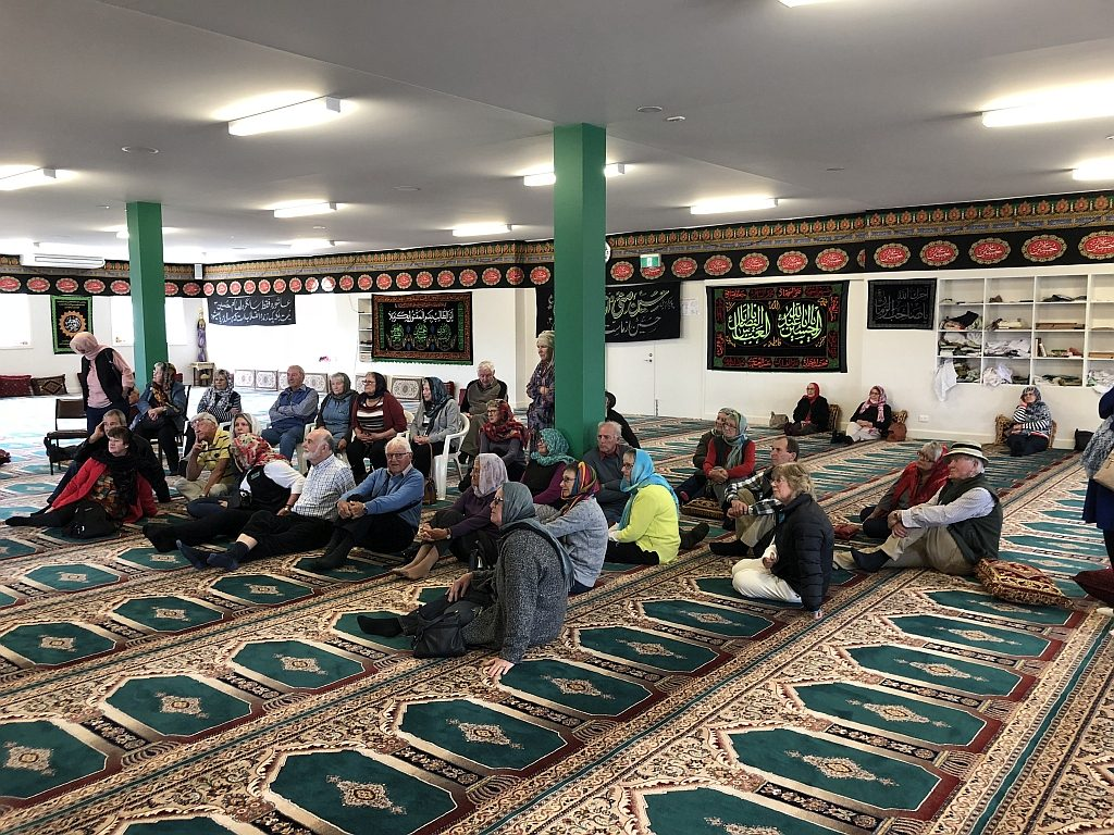 Visiting the Iraqi Mosque Shepparton