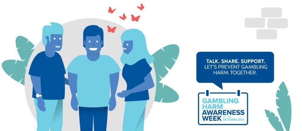 Gambling Harm Awareness Week Flyer