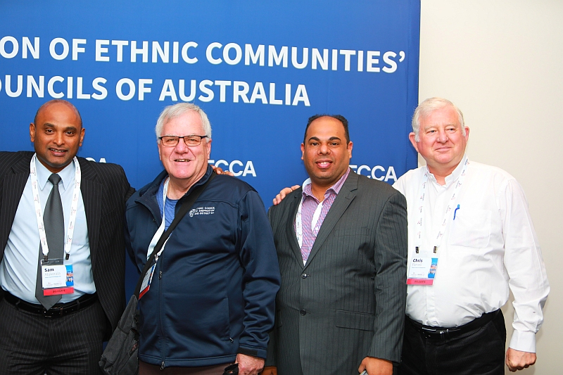 Ethnic Council Staff and Board Members at FECCA 2019