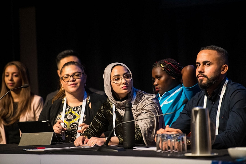 Mariam Mgoter and Ali Albattaat - Project Officers with the Ethnic Council Shepparton & District gave a joint presentation at the 2019 FECCA Conference in Hobart