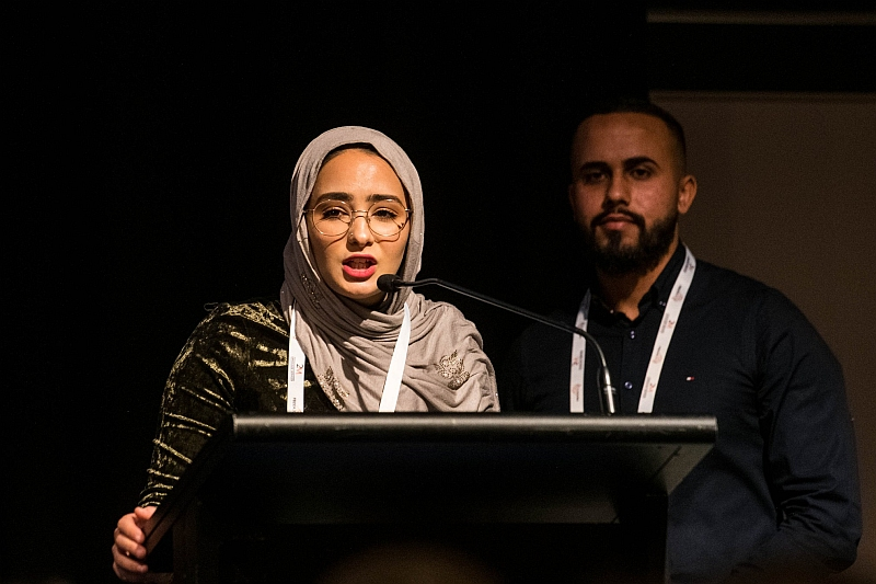 Mariam Mgoter and Ali Albattaat - Project Officers with the Ethnic Council Shepparton & District