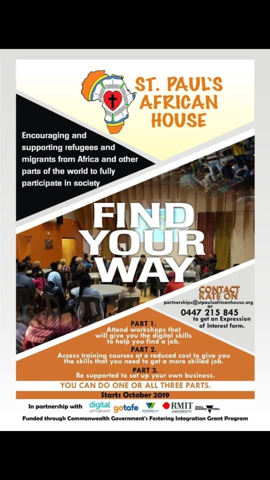Find Your Way Flyer
