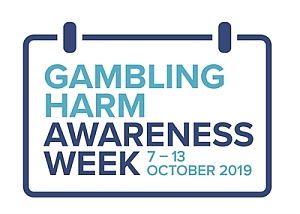 Gambling Harm Awareness Week Logo