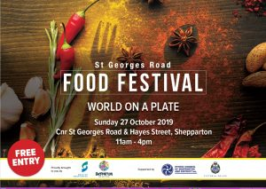 St Georges Road Food Festival 2019
