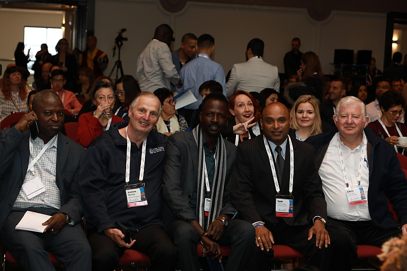 Ethnic Council Staff prior to the opening session of FECCA 2019