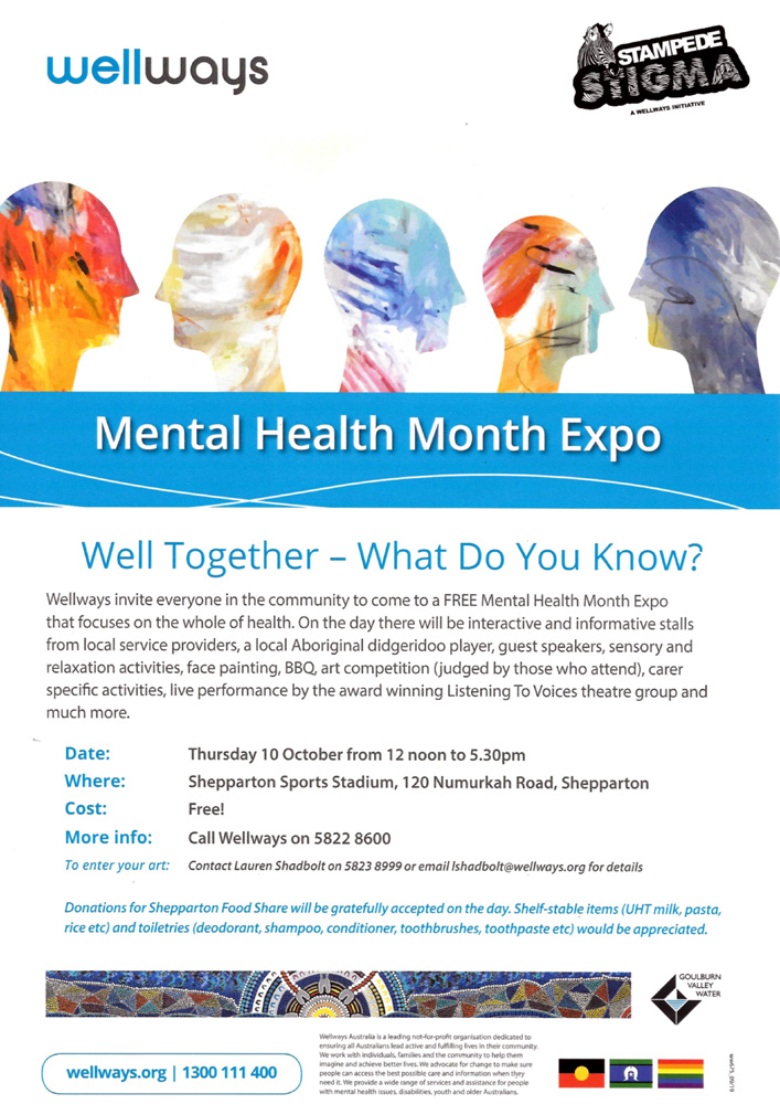 Mental Health Expo Shepparton