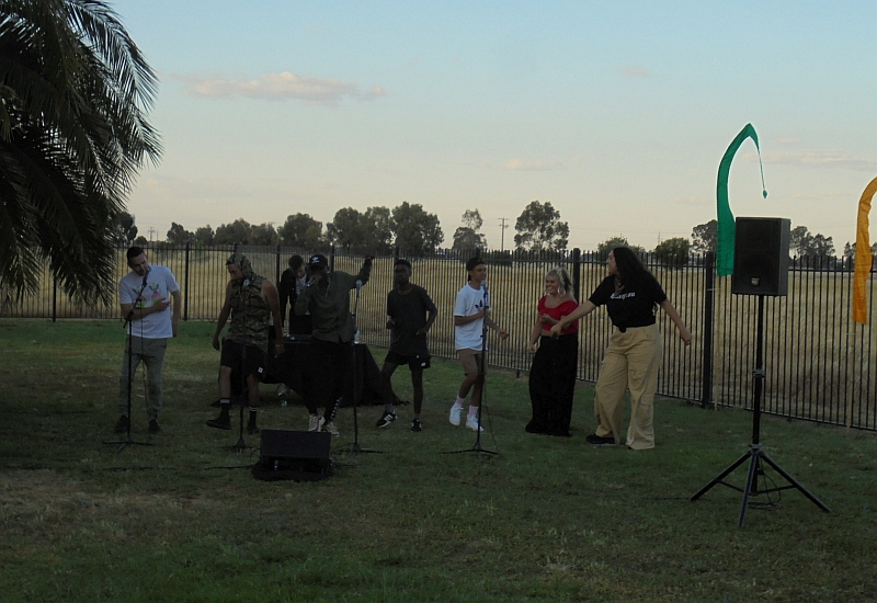 Heard Instinct performs at Out in the Open Festival Shepparton