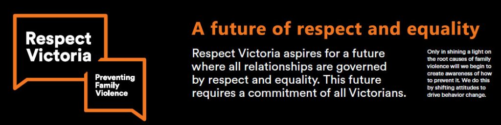 Respect Victoria Footer