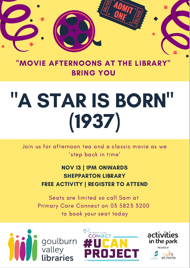 A Star is Born flyer