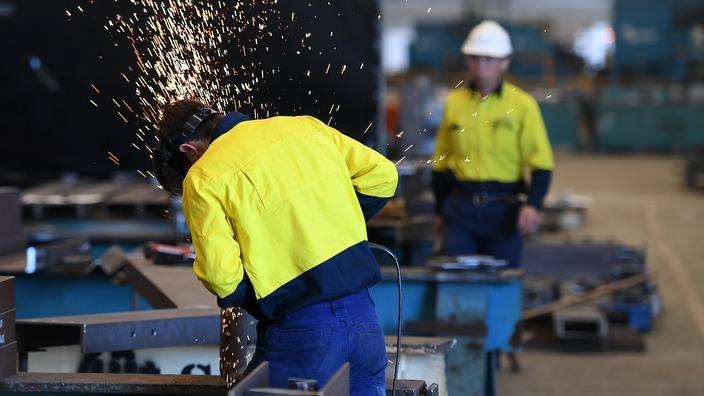 migrant metal worker