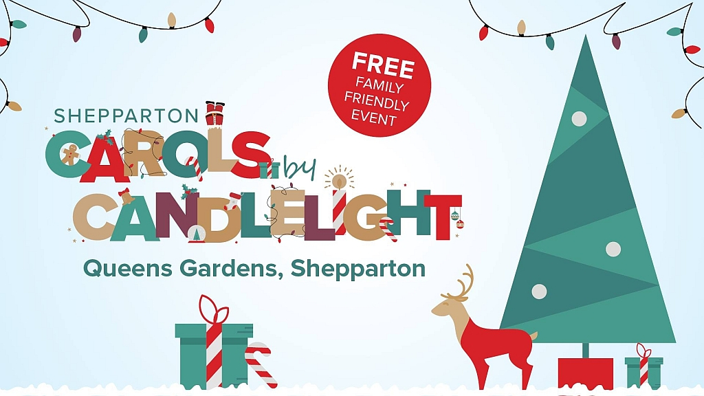 Shepparton's Carols by Candlelight - an annual event in Queens Gardens