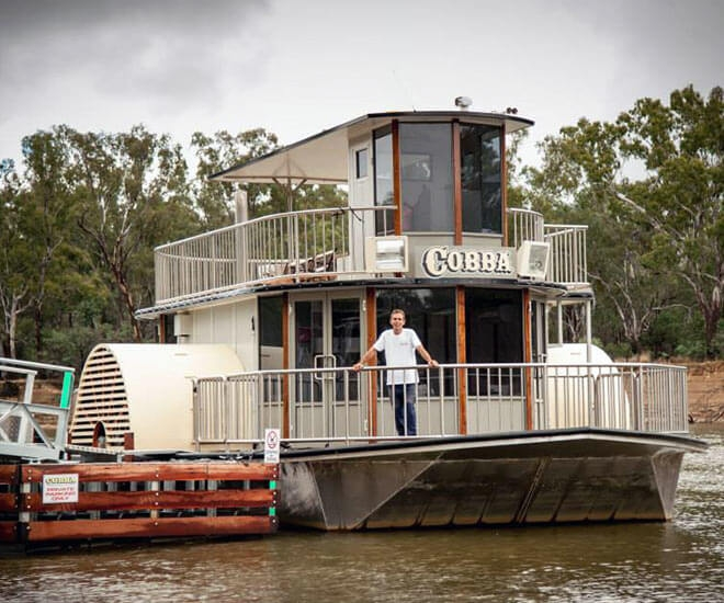 Cobba Paddleboat at Cobram
