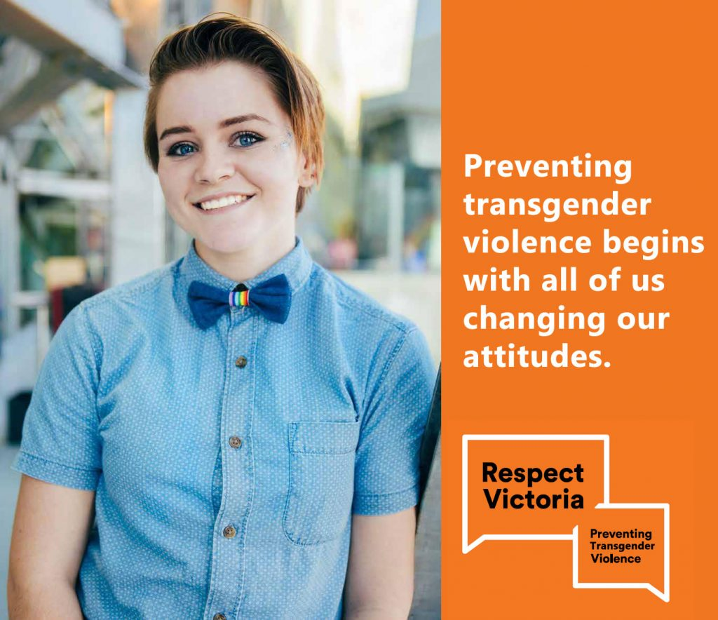 Respect Victoria - 16 days against gender and transgender based violence