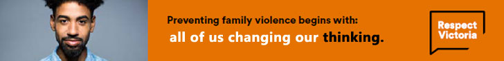 Respect Victoria, Respect Victoria campaign against gender based violence,
