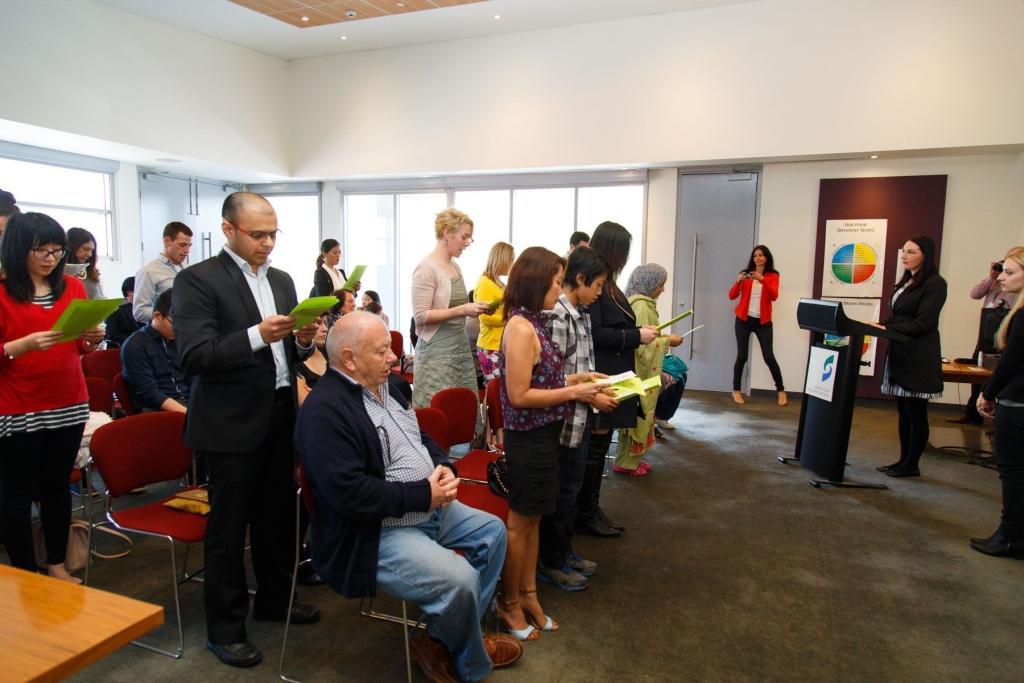 Citizenship Ceremony in Shepparton
