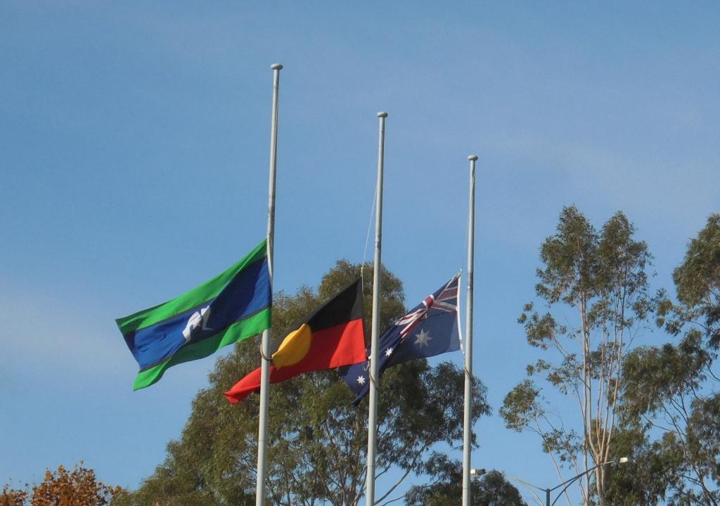 Three Australian Flag