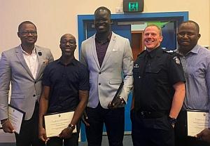 African Australians -  Victoria Police program