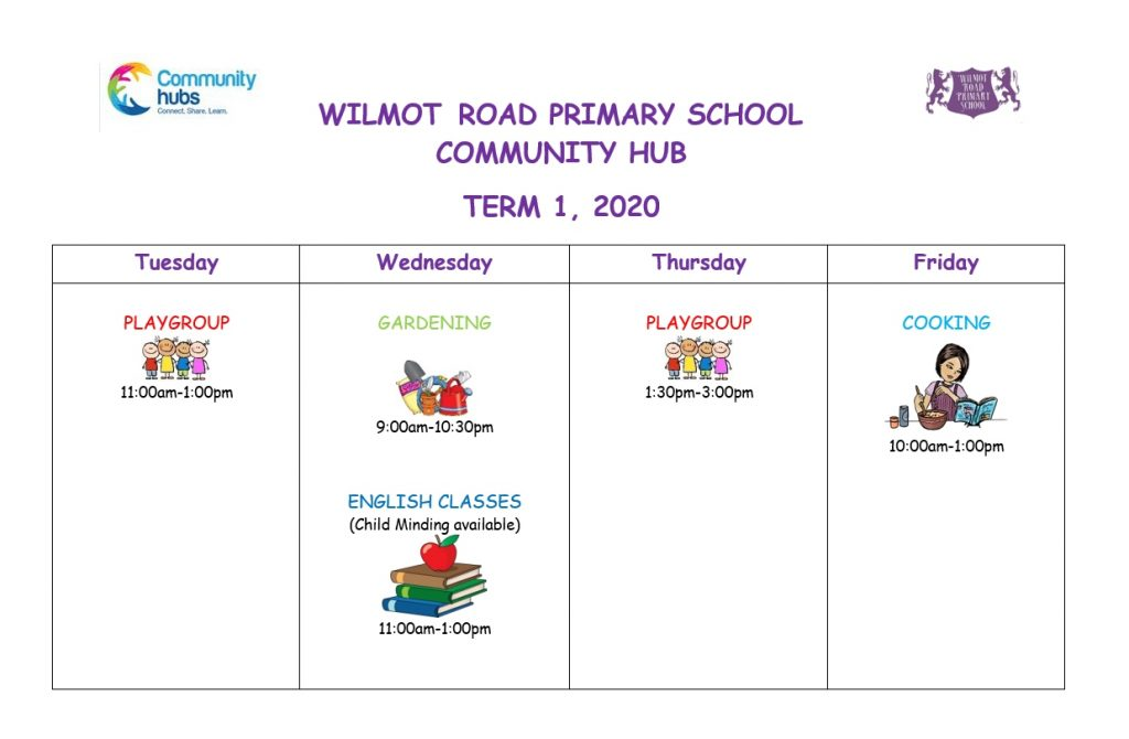 Wilmot Road Community Hub