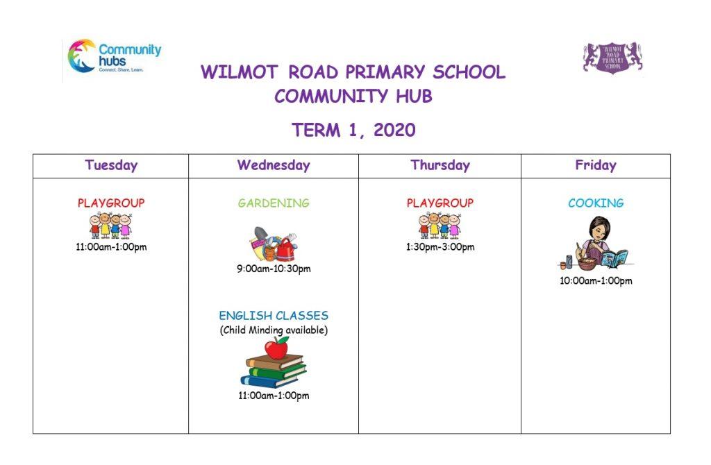Wilmot Road Community Hub