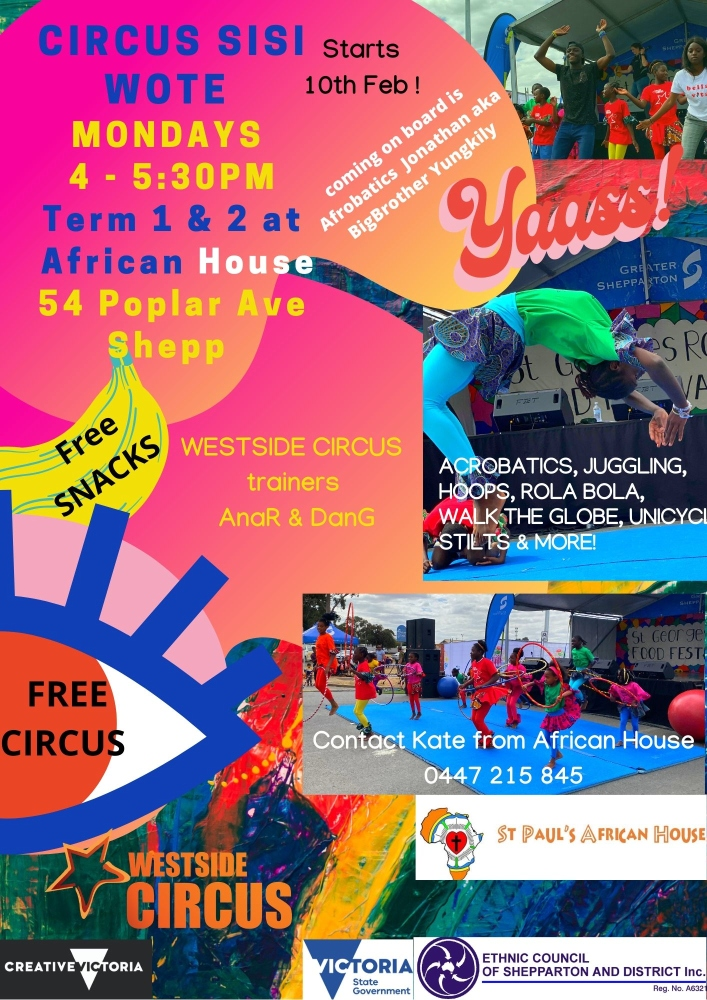 Circus Sisi Wote at African House