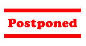 event postponed
