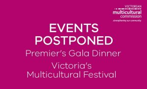 Events Postponed
