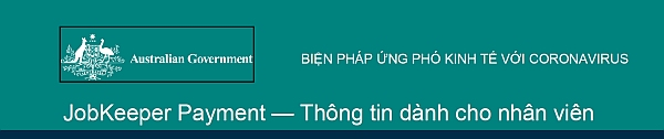 Treasury Factsheet Jobkeeper Vietnamese