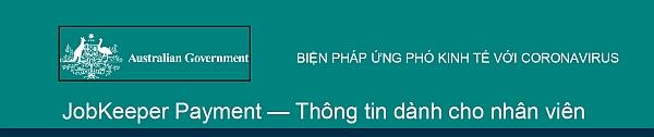 Treasury Factsheet Jobkeeper Vietnamese