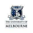 University of Melbourne Logo small white logo