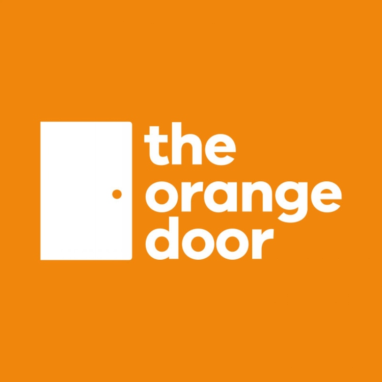 the orange door logo