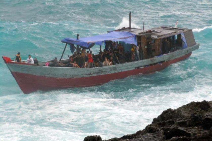 boat at Christmas Island