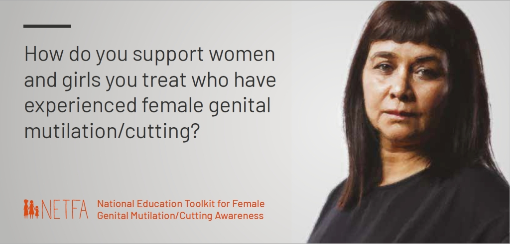 National Education Toolkit for Female Genital Mutilation/Cutting Awareness Postcard