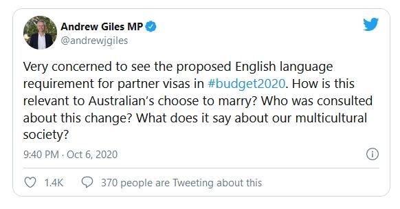 Labor spokesman Andrew Giles