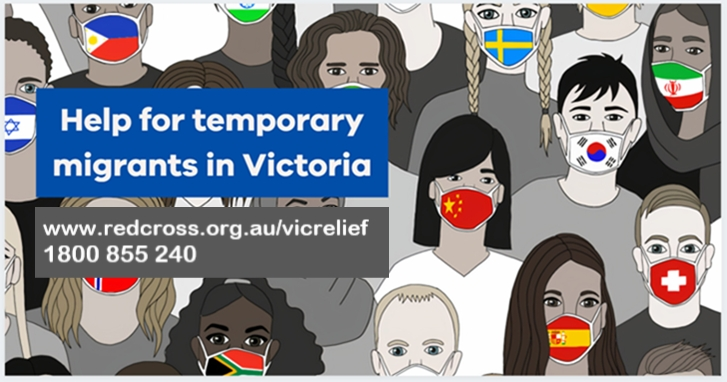Help for those on temporary visas