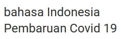 Indonesia Covid 19 Update