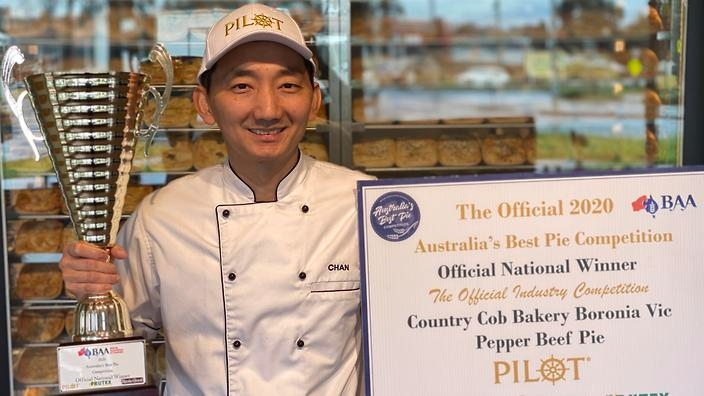 A Cambodian migrant is making Australia's best pie